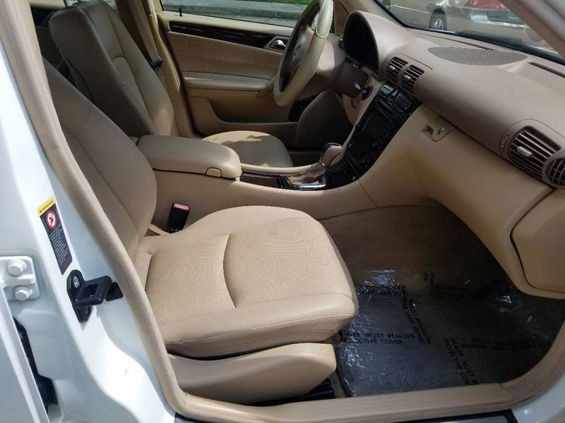 2004 Mercedes-Benz C-Class for sale at One Stop Car Sales in Houston TX