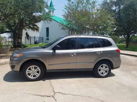 2011 Hyundai Santa Fe for sale at One Stop Car Sales in Houston TX