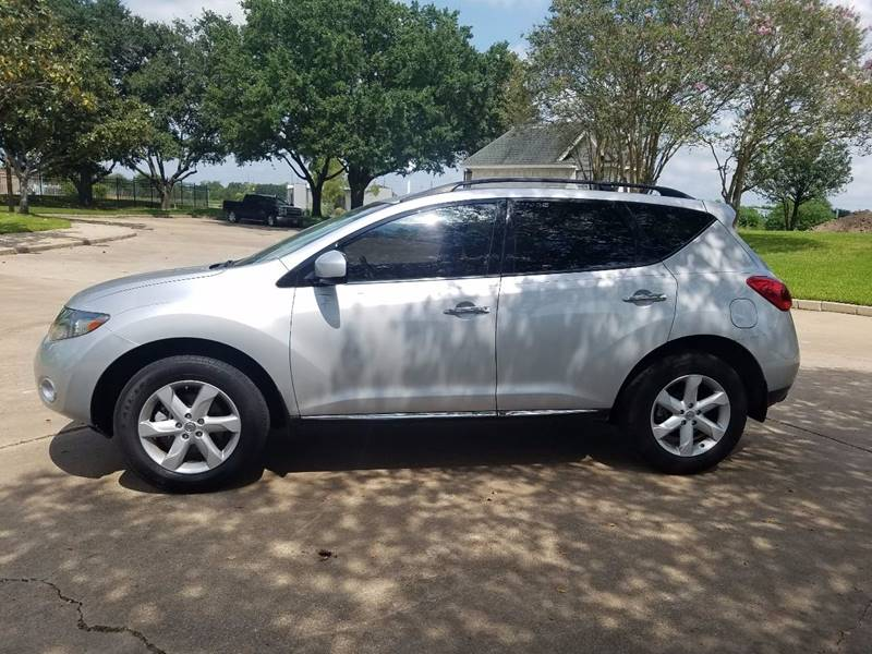 2009 Nissan Murano for sale at One Stop Car Sales in Houston TX
