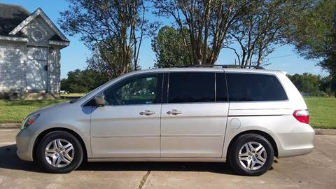 2005 Honda Odyssey for sale at One Stop Car Sales in Houston TX