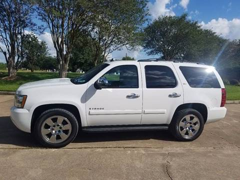 2008 Chevrolet Tahoe for sale at One Stop Car Sales in Houston TX