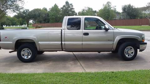 2000 Chevrolet Silverado 2500 for sale at One Stop Car Sales in Houston TX