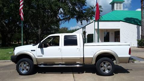 2001 Ford F-250 Super Duty for sale at One Stop Car Sales in Houston TX