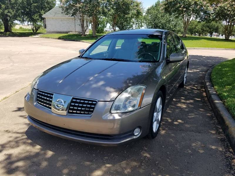 2006 Nissan Maxima for sale at One Stop Car Sales in Houston TX