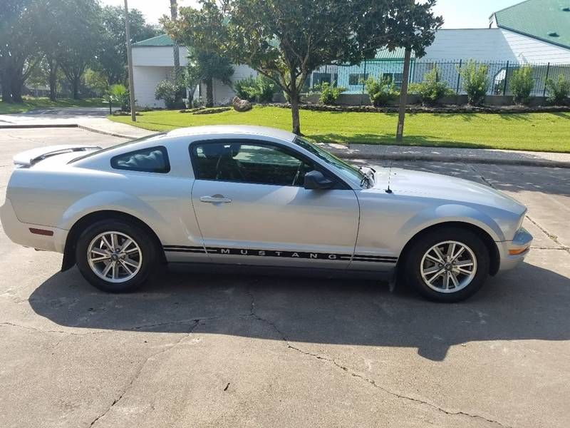 2005 Ford Mustang for sale at One Stop Car Sales in Houston TX