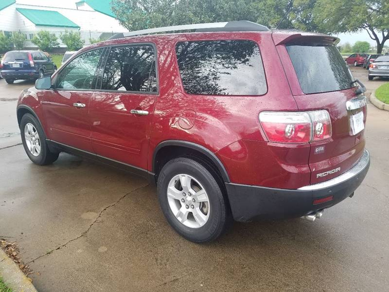 2010 GMC Acadia for sale at One Stop Car Sales in Houston TX