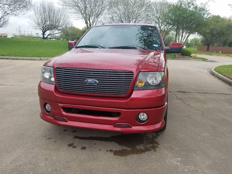 2007 Ford F-150 for sale at One Stop Car Sales in Houston TX