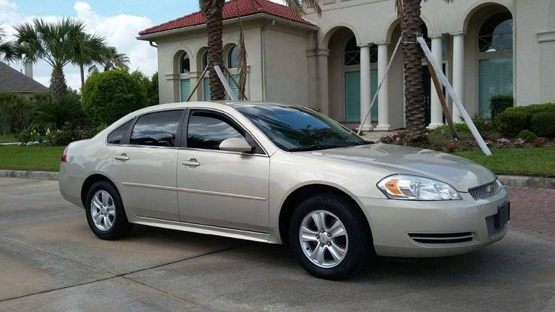 2012 Chevrolet Impala for sale at One Stop Car Sales in Houston TX