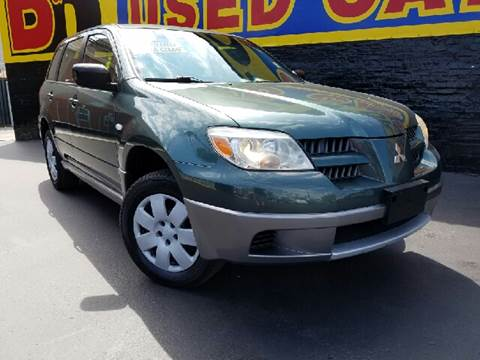 2005 Mitsubishi Outlander for sale at B & R Motor Sales in Chicago IL