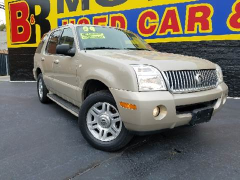 2004 Mercury Mountaineer for sale at B & R Motor Sales in Chicago IL