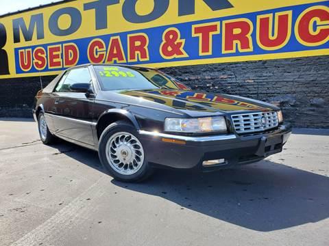 2002 Cadillac Eldorado for sale at B & R Motor Sales in Chicago IL