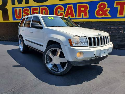 2007 Jeep Grand Cherokee for sale at B & R Motor Sales in Chicago IL