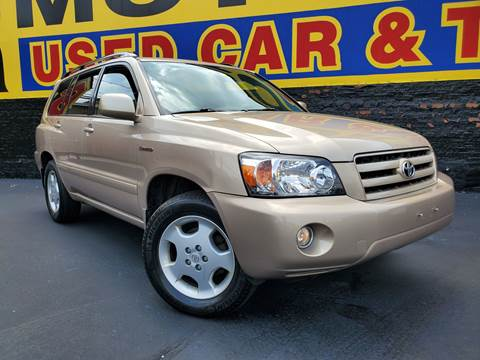 2006 Toyota Highlander for sale at B & R Motor Sales in Chicago IL