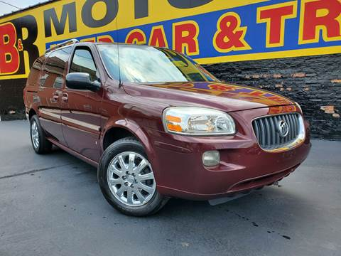 2006 Buick Terraza for sale at B & R Motor Sales in Chicago IL