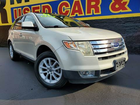2007 Ford Edge for sale at B & R Motor Sales in Chicago IL