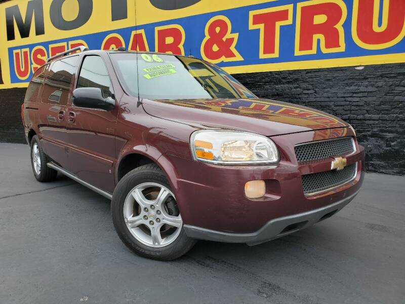 2006 Chevrolet Uplander for sale at B & R Motor Sales in Chicago IL
