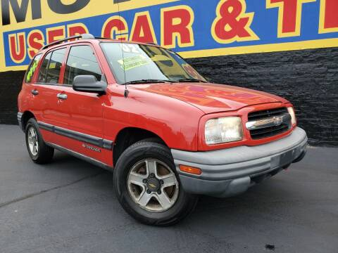 2002 Chevrolet Tracker for sale at B & R Motor Sales in Chicago IL