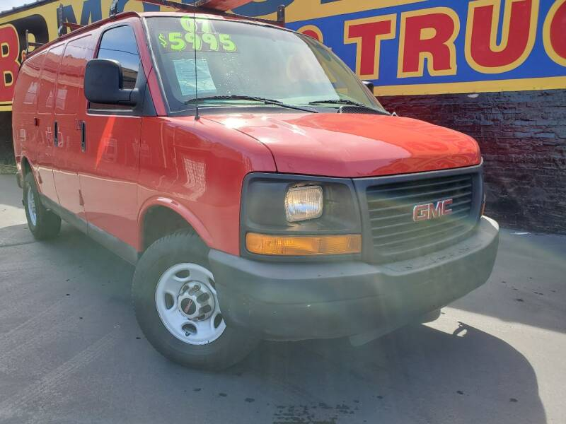 2007 GMC Savana Cargo for sale at B & R Motor Sales in Chicago IL