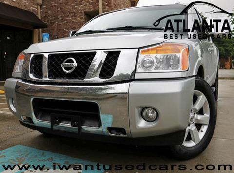 2013 Nissan Titan for sale in Norcross, GA