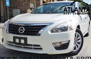 2013 Nissan Altima for sale in Norcross, GA