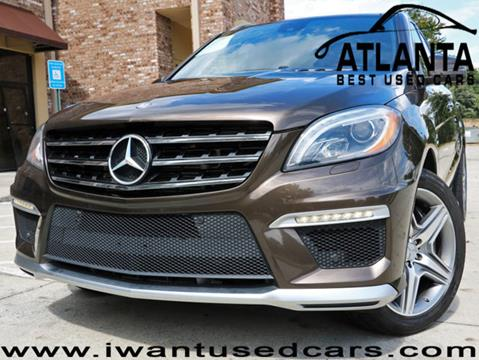 2013 Mercedes-Benz M-Class for sale in Norcross, GA