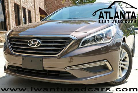 2015 Hyundai Sonata for sale in Norcross, GA