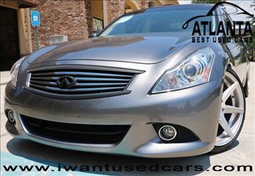 2013 Infiniti G37 Sedan for sale in Norcross, GA