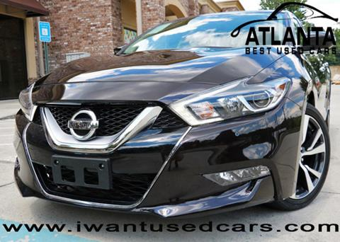 2016 Nissan Maxima for sale in Norcross, GA