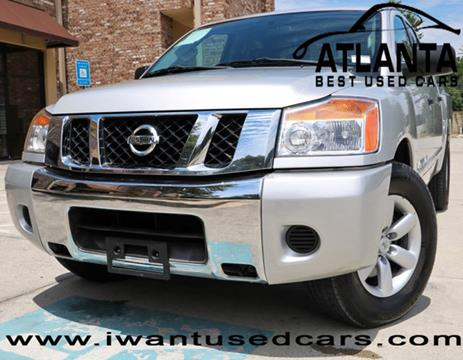 2012 Nissan Titan for sale in Norcross, GA