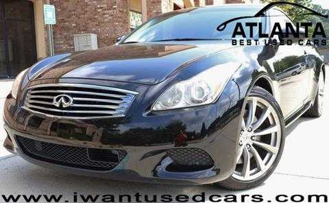 2009 Infiniti G37 Convertible for sale in Norcross, GA