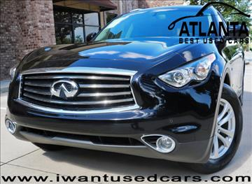 2014 Infiniti QX70 for sale in Norcross, GA