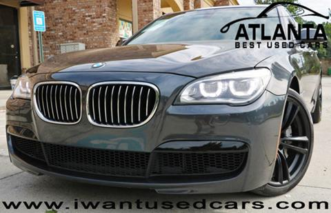 2013 BMW 7 Series for sale in Norcross, GA