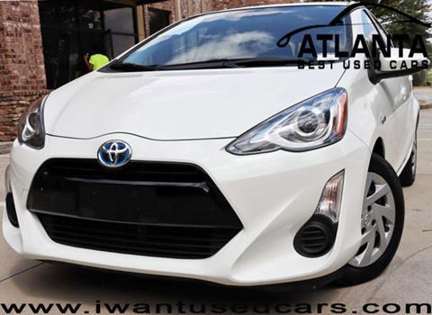 2015 Toyota Prius c for sale in Norcross, GA