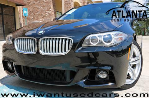 2015 BMW 5 Series for sale in Norcross, GA