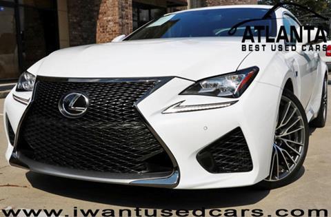 2015 Lexus RC F for sale in Norcross, GA