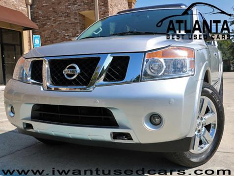 2014 Nissan Armada for sale in Norcross, GA