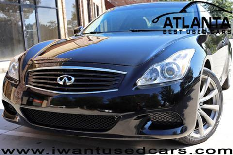 2010 Infiniti G37 Coupe for sale in Norcross, GA