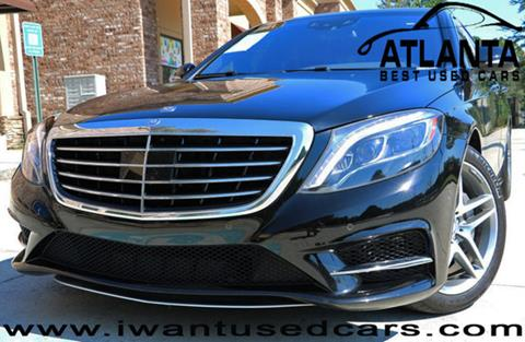 2014 Mercedes-Benz S-Class for sale in Norcross, GA