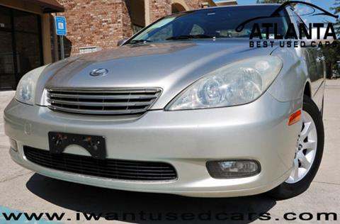 2004 Lexus ES 330 for sale in Norcross, GA