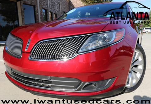 2013 Lincoln MKS for sale in Norcross, GA