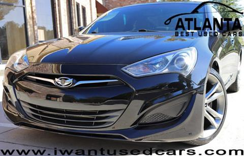 2013 Hyundai Genesis Coupe for sale in Norcross, GA