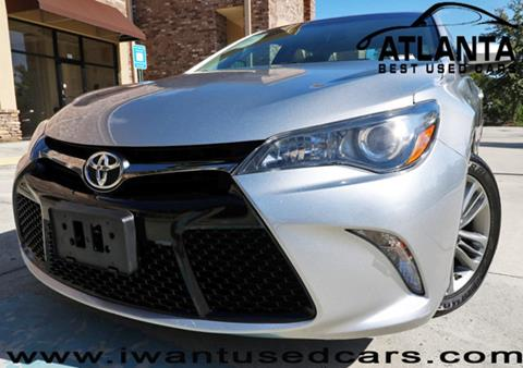 2015 Toyota Camry for sale in Norcross, GA