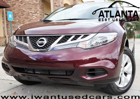 2014 Nissan Murano for sale in Norcross, GA