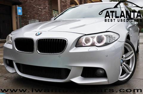 2011 BMW 5 Series for sale in Norcross, GA