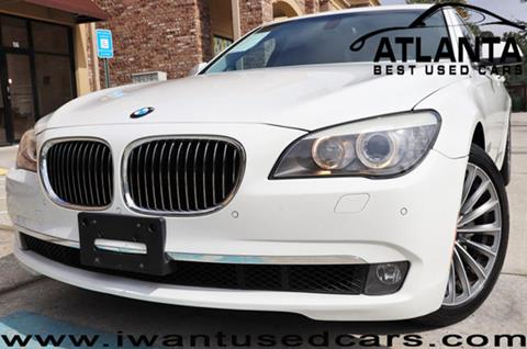 2011 BMW 7 Series for sale in Norcross, GA