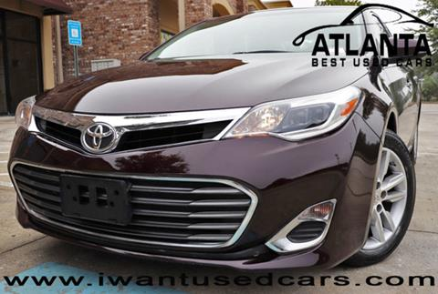 2014 Toyota Avalon for sale in Norcross, GA