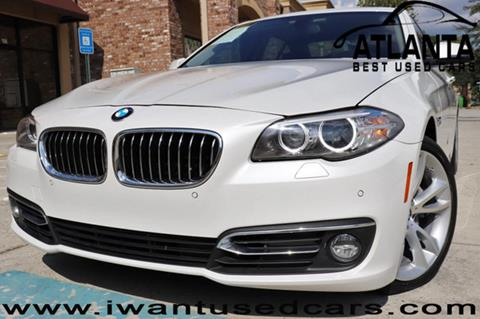 2014 BMW 5 Series for sale in Norcross, GA