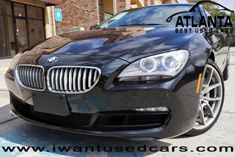 2013 BMW 6 Series for sale in Norcross, GA