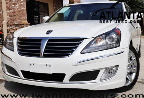 2012 Hyundai Equus for sale in Norcross, GA