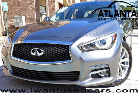 2015 Infiniti Q50 for sale in Norcross, GA